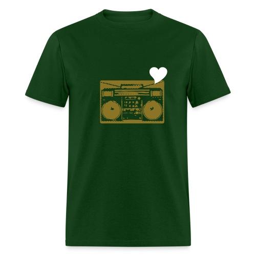 Music is Love - Men's T-Shirt