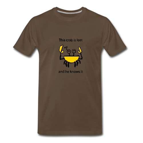 crab - Men's Premium T-Shirt