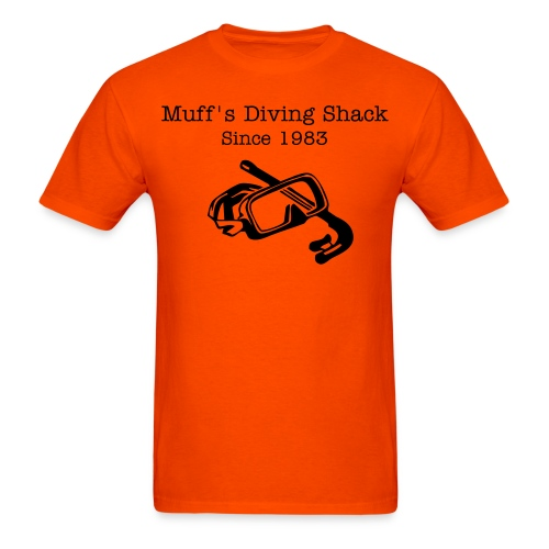 Muff's Diving Shack - Men's T-Shirt