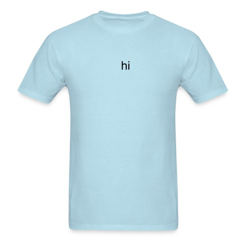 HI - Men's T-Shirt