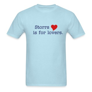 Men's Storrs is for lovers. retro tee - Men's T-Shirt