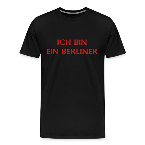 Shirt in German - Men's Premium T-Shirt
