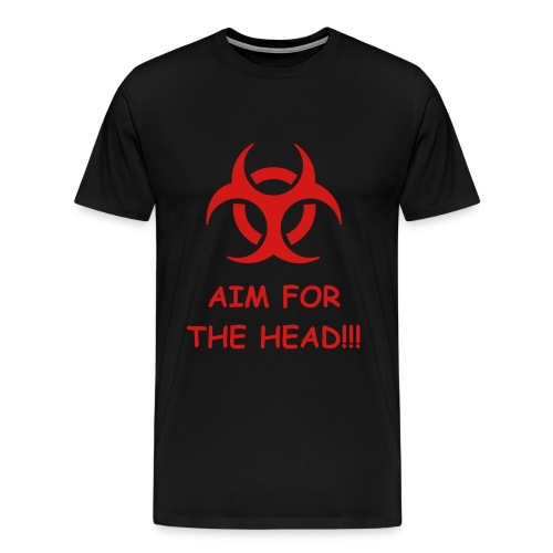 Aim for the head!! - Men's Premium T-Shirt
