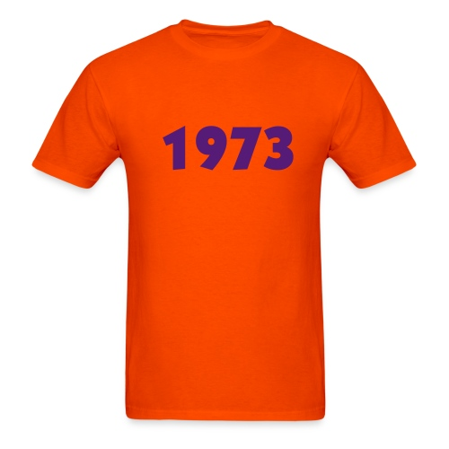 CUSTOMIZE YEAR and choose color - Men's T-Shirt