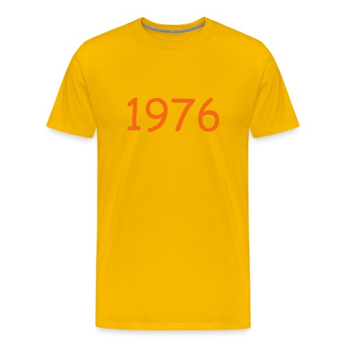 CUSTOMIZE YEAR and choose color - Men's Premium T-Shirt