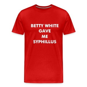 Betty White - Men's Premium T-Shirt