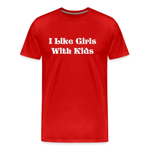 I Like Girls - Men's Premium T-Shirt