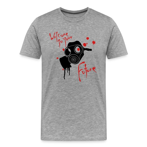 Zombie Future Tee - Men's Premium T-Shirt