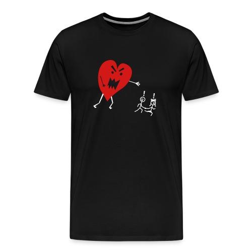 Heart Monster - Men's Premium T-Shirt