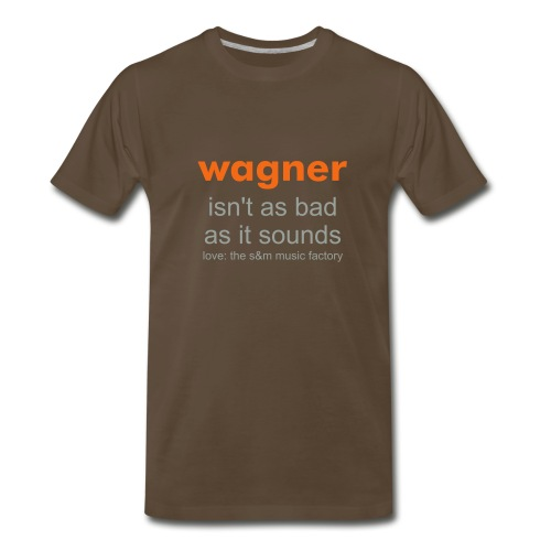 Men's Wagner Text T - Men's Premium T-Shirt