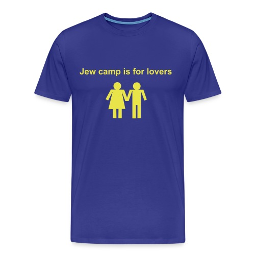 Jew Camp is for Lovers - Men's Premium T-Shirt