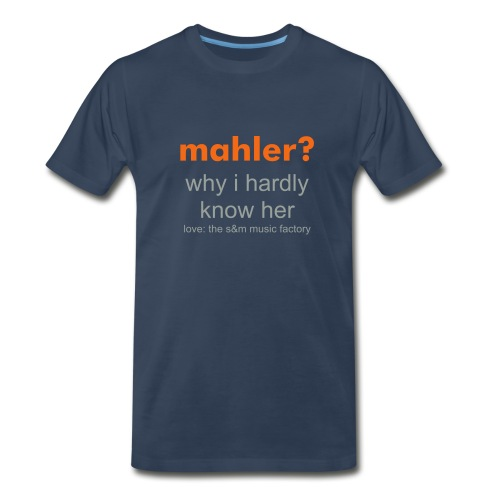Men's Mahler Text T - Men's Premium T-Shirt