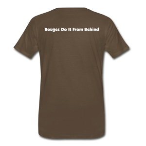 Rouges Do It From Behind - Men's Premium T-Shirt