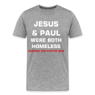 T-Shirts ~ Men's Premium T-Shirt ~ JESUS & PAUL TEE