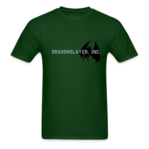 Dragonslayer, Inc. Shirt (Green) - Men's T-Shirt