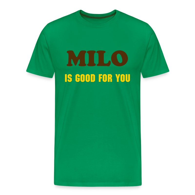 Milo is good for you t shirt t shirt for Good t shirts brands