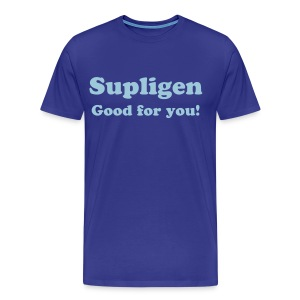 SUPLIGEN GOOD FOR YOU - T-SHIRT - IZATRINI.com - Men's Premium T-Shirt