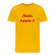 T-Shirts ~ Men's Premium T-Shirt ~ SOLO APPLE J - T-SHIRT - IZATRINI.com