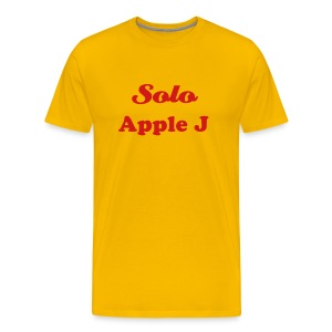 SOLO APPLE J - T-SHIRT - IZATRINI.com - Men's Premium T-Shirt