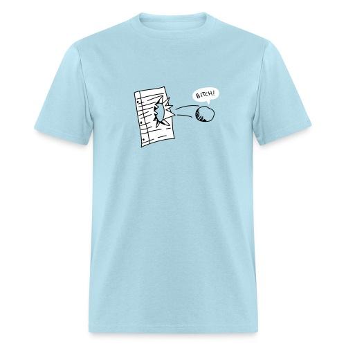 Rock Beats Paper - Men's T-Shirt