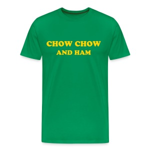 CHOW CHOW AND HAM - IZATRINI.com - Men's Premium T-Shirt