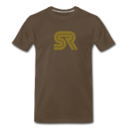T-Shirts ~ Men's Premium T-Shirt ~ sports racer - brown