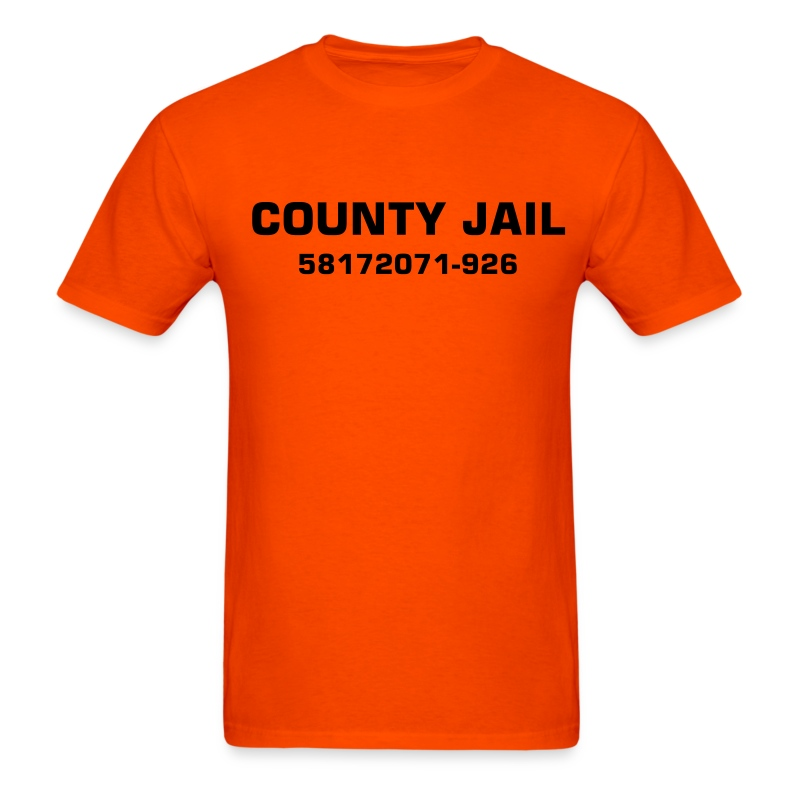 County Jail - Men's T-Shirt