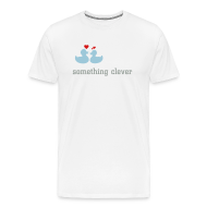 T-Shirts ~ Men's Premium T-Shirt ~ duckies of love - click to customize text