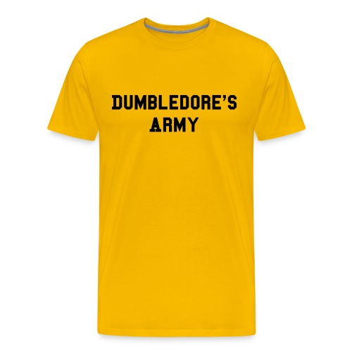 DA Hufflepuff (Yellow) - Men's Premium T-Shirt