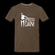 T-Shirts ~ Men's Premium T-Shirt ~ Men's Brown Speedo Dan