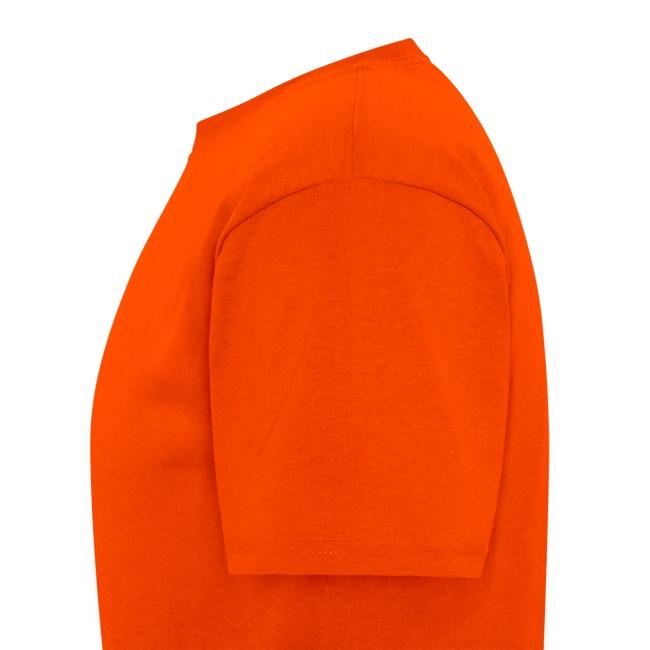 duckies - brown on orange
