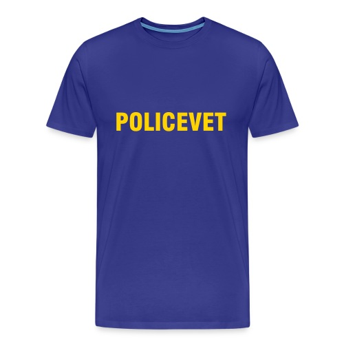 Policevet's Heavyweight Cotten Tee Shirt - Men's Premium T-Shirt