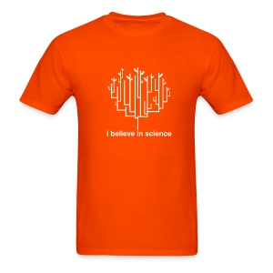 Tree of Life: Orange - Men's T-Shirt