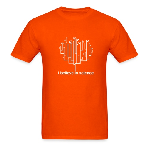 Tree of Life: Orange - Men's T-Shirt