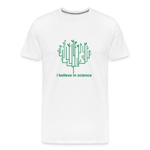 Tree of Life: White (Green) - Men's Premium T-Shirt