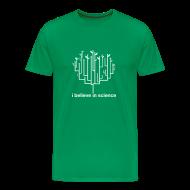 T-Shirts ~ Men's Premium T-Shirt ~ Tree of Life: Green