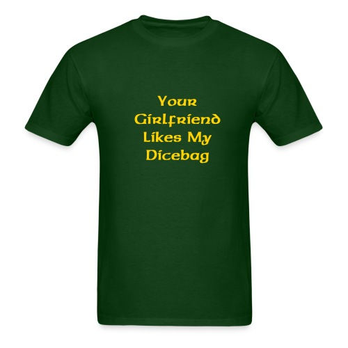 'Dicebag' T-Shirt (Green) - Men's T-Shirt