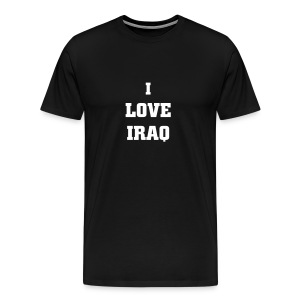 I Love Iraq - Men's Premium T-Shirt