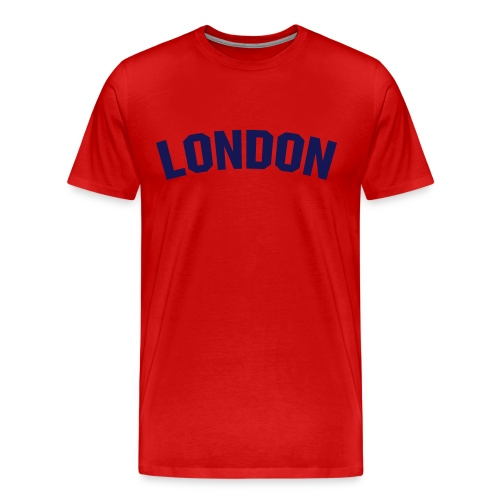 Red London shirt - Men's Premium T-Shirt