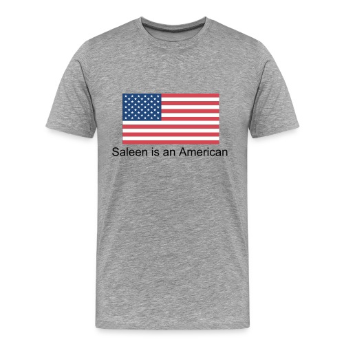 Saleen Is An American Heavyweight Tee - Men's Premium T-Shirt
