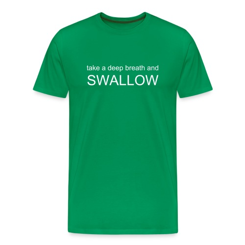 boys swallow green t - Men's Premium T-Shirt