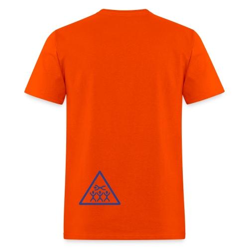 My First Words Orange T-Shirt - Men's T-Shirt