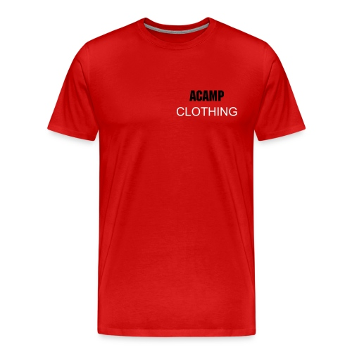 RED ACAMP SHIRT - Men's Premium T-Shirt