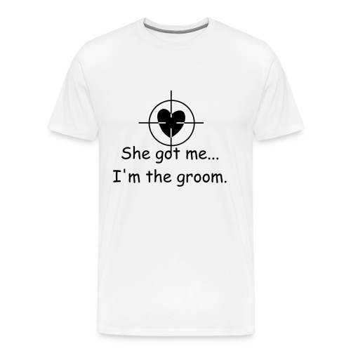I'm the groom XXXL - Men's Premium T-Shirt