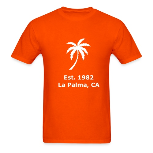 La Palma Orange - Men's T-Shirt