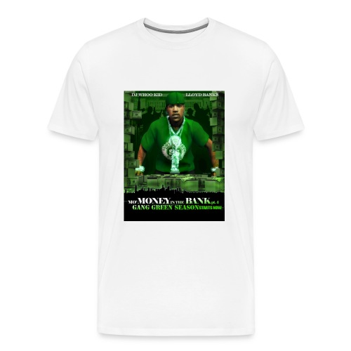 LLOYD BANKS-WHITE - S-XXL - Men's Premium T-Shirt
