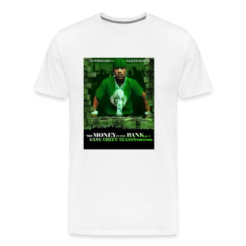 LLOYD BANKS - WHITE - XXXL - Men's Premium T-Shirt