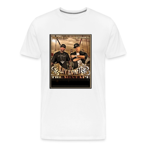 BAY BIDNESS - WHITE - XXXL - Men's Premium T-Shirt