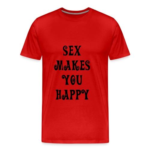 Womens Red tee - Men's Premium T-Shirt