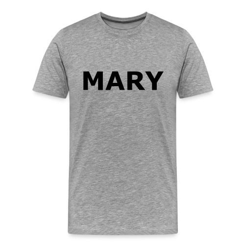 Mary Heavyweight Cotton T - Men's Premium T-Shirt